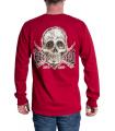 Fanta Skullery Long Sleeve Contrast T-shirt